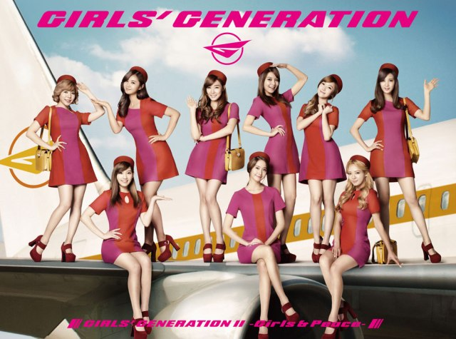 SNSD 2nd Japanese Album Girls & Peace