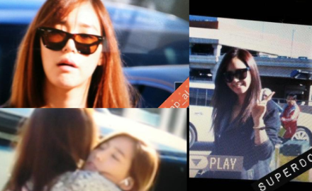121111 SNSD LAX Depart to Korea
