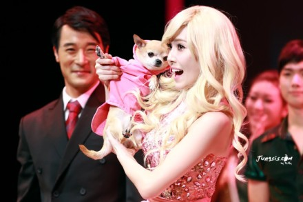 121129 Jessica Musical Legally Blonde