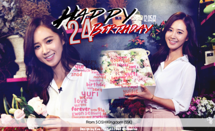 Yuri 24th Birthday Banner 2012