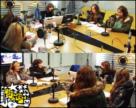 130115 Sooyoung Jessica Hyoyeon Yoona MBC FM Younha's Starry Night Radio Official Pictures