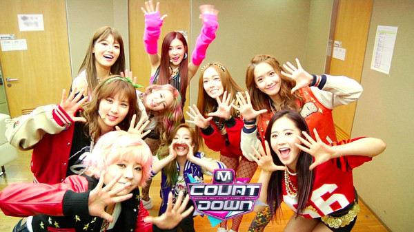 SNSD Mnet M!Countdown I got a Boy Comeback Backstage