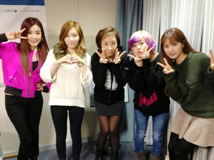Taeyeon Tiffany Sunny Seohyun SBS Power FM Jung SunHee's 'A Night Like Tonight'