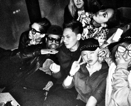 130420 Sunny with friends at the club
