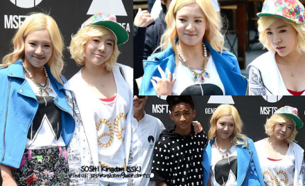 130508 Hyoyeon and Sunny at MSFTSrep x General Idea Pop Up Store Event