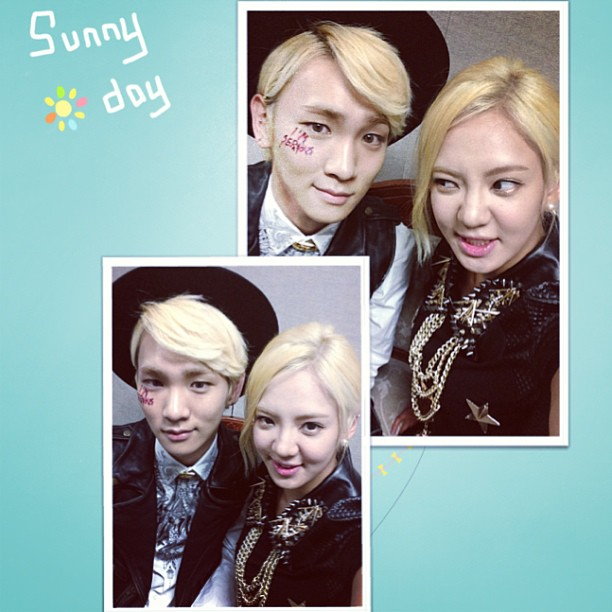 130511 Hyoyeon Instagram Update with Key
