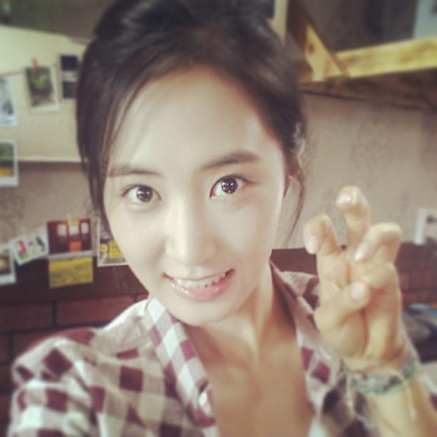 130614 Yuri Instagram Update in No Breathing Filming
