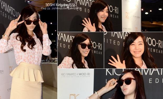 130827 Tiffany at Kio Yamoto x Woori Eyewear Event